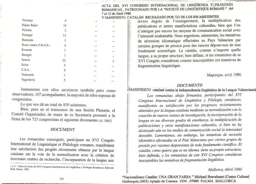 Acta Congreso Romanicas