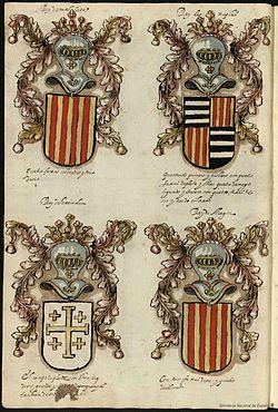 Blasones_de_Aragon_en_el_Libro_de_armas_y_linajes