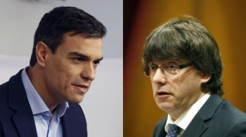 Quina por: Puigdemont y Sánchez se reunirán mañana
