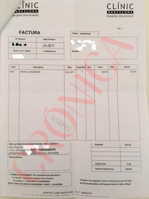 hospital-clinic-cobra-extremena-urgencias-223-euros-DNI