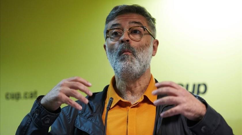 LA CUP ASEGURA QUE EL GOVERN TIENE SOBRE LA MESA LA CONVOCATORIA DE ELECCIONES