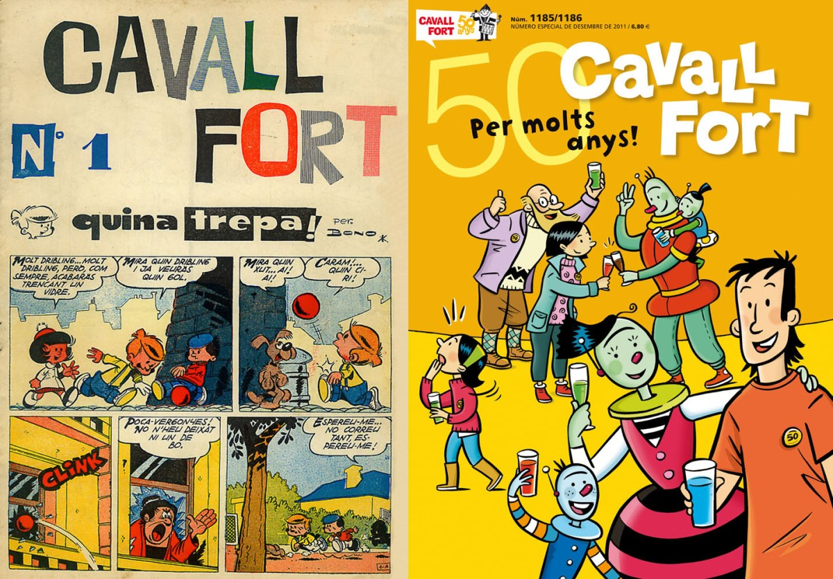 INCREIBLE: fins i tot els nens tenien publicacions en català durant el franquisme