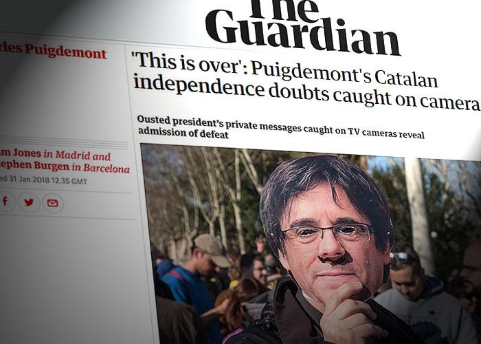 guardian-sms-puigdemont-dudas