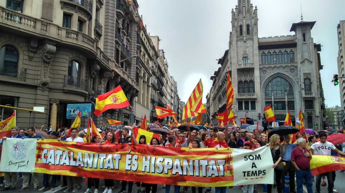 "Vídeo - Lectura del Manifiesto: ""Ni España se vota, ni Cataluña es vuestra"" (""Ni Espanya es vota, ni Catalunya és vostra"")"