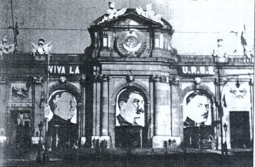 Puerta-de-Alcalá-en-guerra