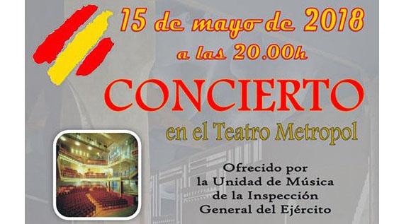 15 De Mayo En Tarragona Concierto Gratuito De La Unidad De Música De La Inspección Del Ejército