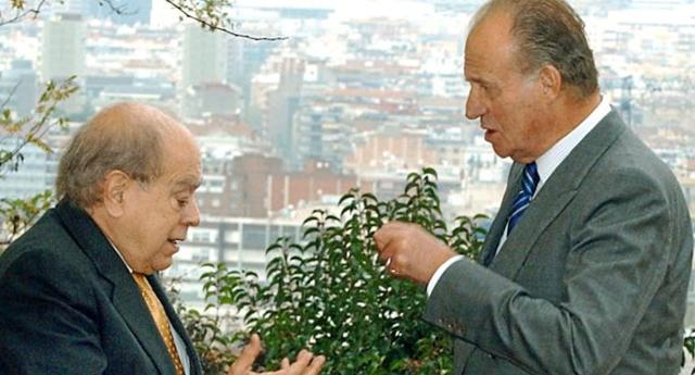 Pujol y Juan Carlos