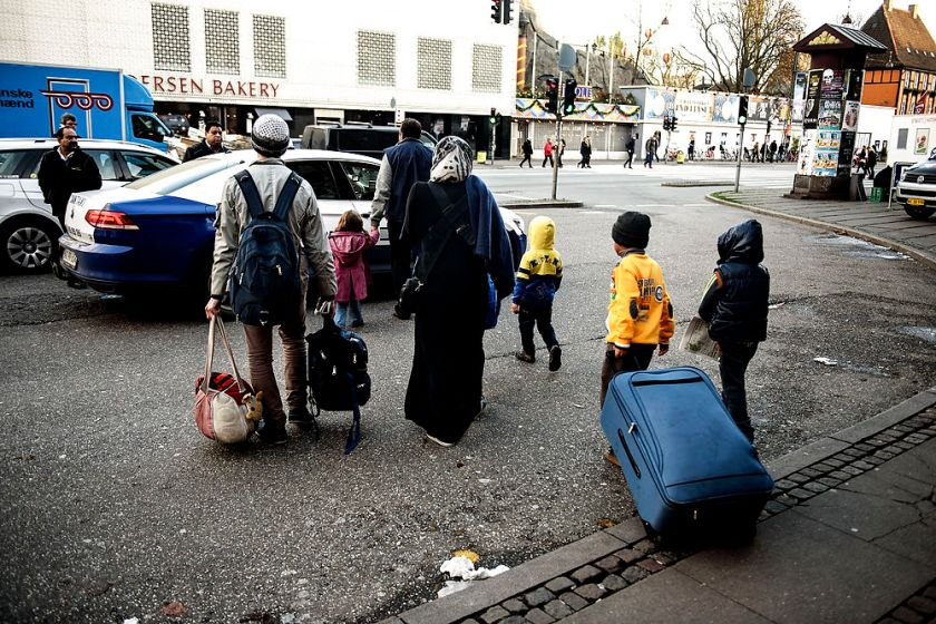 Record low number of asylum seekers causes division in Danish politics