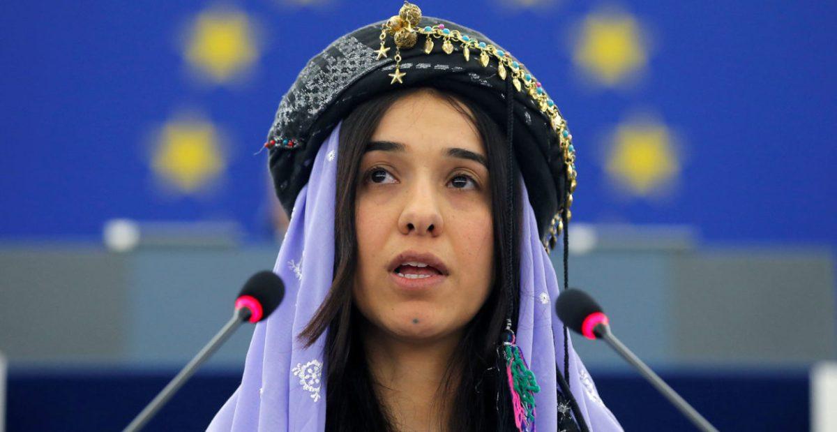 ¡EXCLUSIVA!: las feministas silencian a la ganadora del Nobel de La Paz, por ser víctima de violaciones islamistas