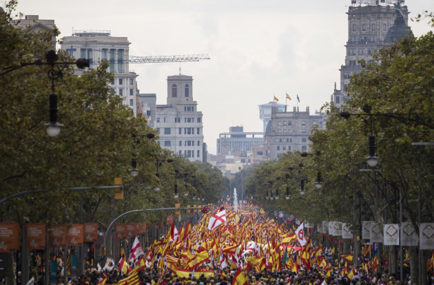 Spain Catalonia National Day