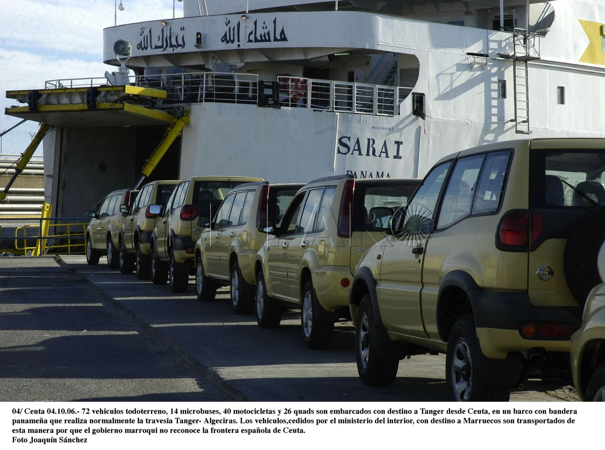 """Sánchez """"regala"""" coches nuevos a la policía de Marruecos y  compra de segunda mano para la Policía española"""