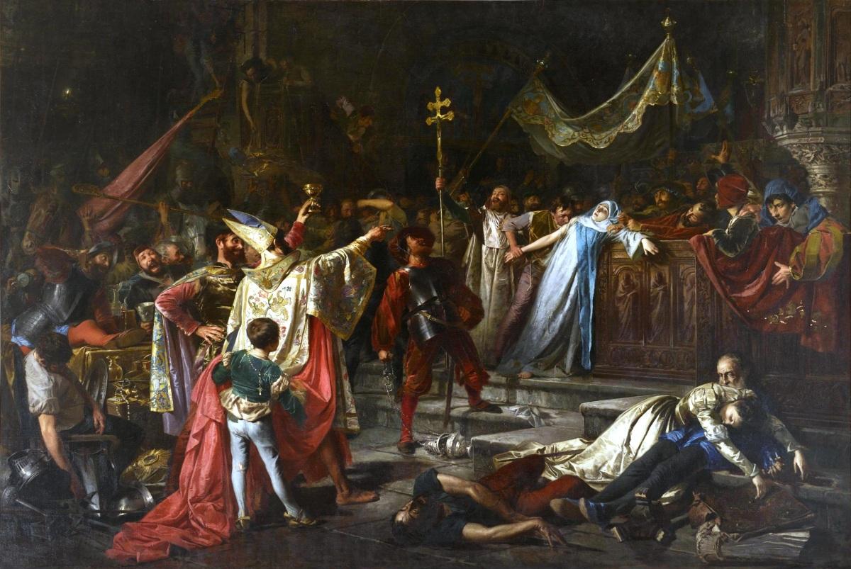 Intervención de soldados catalanes en el Saqueo de Roma, por Cesar Alcalá