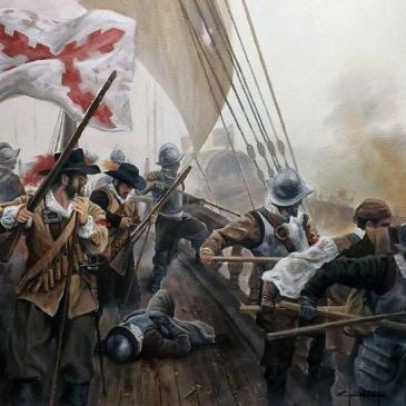 batalla-naval-siglo-xvii