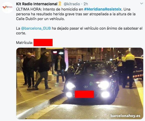 tuit-independentista-meridiana-barcelona-hoy