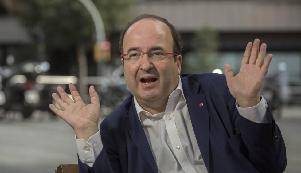 Iceta quiere otro estatuto que contenga la autodeterminación y se vote en referéndum